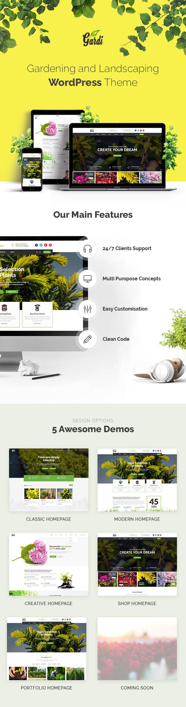 gardi | gardening and landscaping wordpress theme (business) Gardi | Gardening and Landscaping WordPress Theme (Business) canvas
